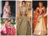 शादी पर लाल के अलावा इन रंगों के लहंगे भी कर सकती हैं ट्राई