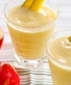 Apple Banana Smoothie With Milk- Energy Drink