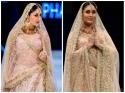 Kareena Kapoor का यह पीच लहंगा देख आप भी करेंगी WOW!