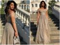 Royal Wedding: गिल्टरी गाउन में प्रियंका चोपड़ा ने लगा दिए चार चांद