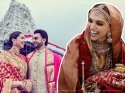 शादी में ससुराल से मिली साड़ी पहनकर दर्शन करने पहुंची दीपिका