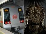 दिल्ली मेट्रो ने किया ट्वीट, ईयरफोन लगाकर देखें Game of Thrones, सस्पेंस बनाएं रखें!