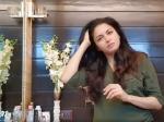 झड़ते बालों की समस्या से छुटकारा पाने के लिए ट्राई करें भाग्यश्री का होममेड ऑयल