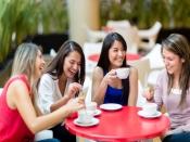 कॉफी के दौरान महिलाएं क्या बातें करती है