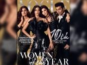 Vogue की 10वीं एनीवर्सिरी के कवर फोटोशूट में सेलिब्रेटिज ने दिए क्लासी पोज