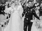 सोफी टर्नर की फ्रेंच वेडिंग की सामने आई पहली तस्वीर, Louis Vuitton के गाउन में दिखी बेहद खूबसूरत