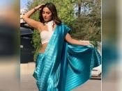 साड़ी पहनने के लिए हिना खान से सीखें टिप्स, ग्लैमरस लुक के साथ गजब की अदाएं
