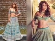 निया शर्मा ने कराया हॉट फोटोशूट, लहंगे के साथ पहना डीप नेक ब्लाउज