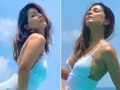 हिना खान का दिखा अबतक का सबसे हॉट लुक, बिकिनी में ढा रहीं कहर