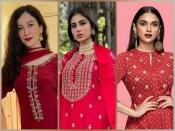 गौहर, मौनी रॉय और अदिति राव हैदरी के यह रेड कुर्ता सेट ईद के लिए हैं परफेक्ट