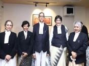 सुप्रीम कोर्ट में एक साथ तीन महिला जजों ने ली शपथ, नौ न्यायाधीशों में से चार हैं महिलाएं