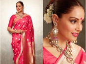 karwa chauth Fashion: करवा चौथ पर पहनें ये खूबसूरत साड़ी, सबकी निगाहें बस आप पर ही होंगी