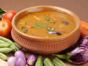 Vegetable Sambar