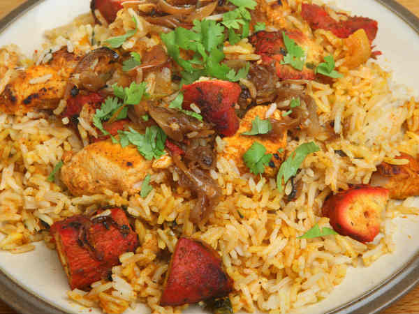 Chicken Tikka Biryani Recipe