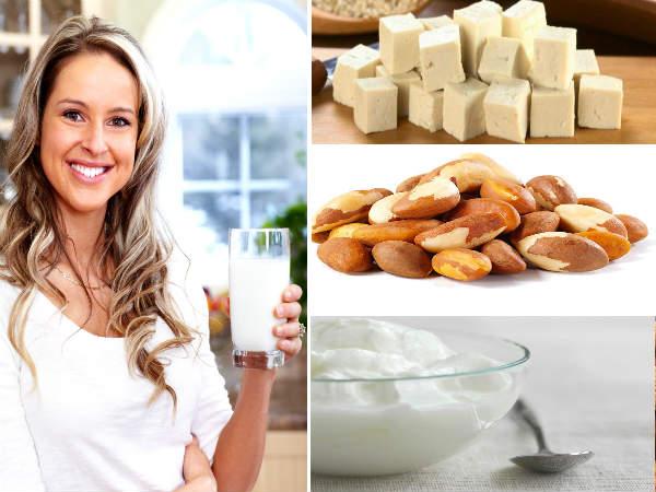 महिलाओं के लिए कैल्शियम युक्त 20 आहार