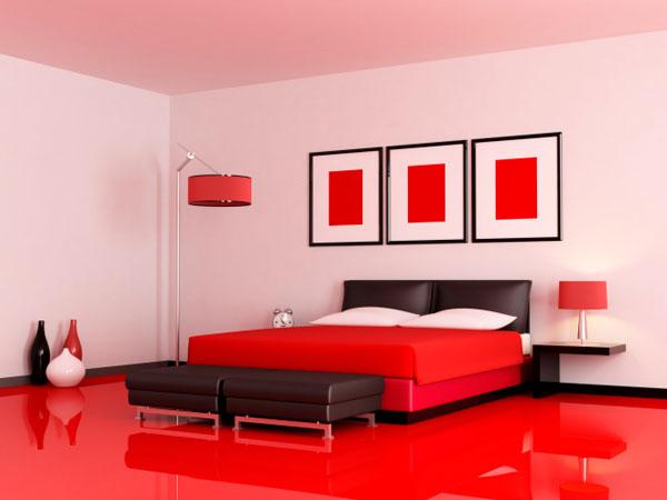 रेड हॉट बेडरूम