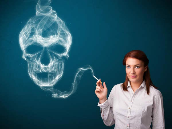 health effects of smoking on women