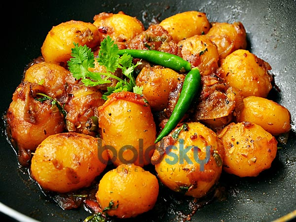 Crisp Baby Potatoes Fry Recipe