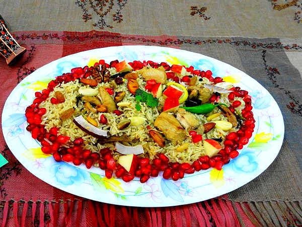 Tasty Kashmiri Pulao Recipe