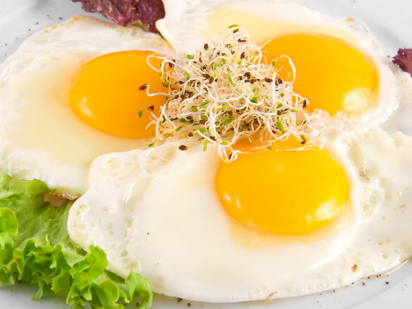 Sprout Scrambled Egg Recipe For Breakfast