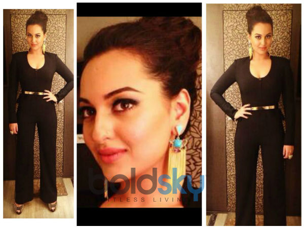 Star Guild Awards 2014: Sonakshi Sinha In Black