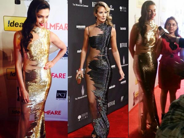 Filmfare Awards 2014: Deepika Padukone's Revealing Dress