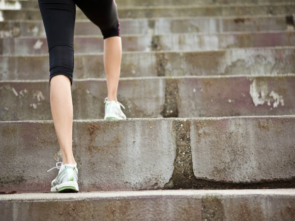 Amazing health benefits of climbing steps