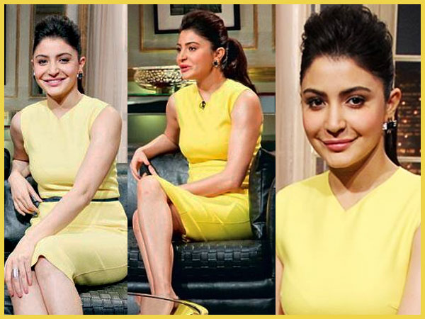 Anushka Sharma's New Look On Koffee With Karan