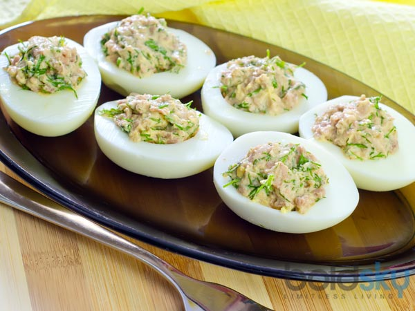 Stuffed Egg With Mayonnaise Recipe