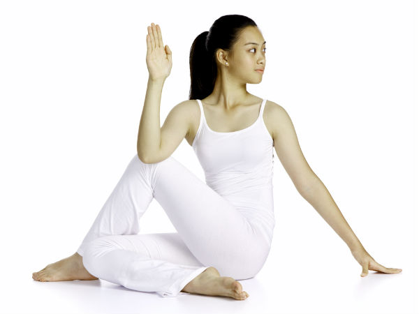 Ardha Matsyendrasana Yoga/Half Lord of the Fishes Pose