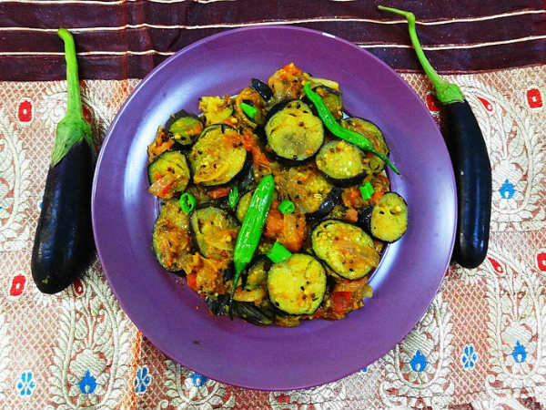 Baingan Patiala (Spicy Stir Fried Eggplants) | बैंगन ...