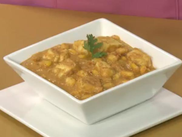 Paneer Corn Korma Recipe: Watch Video & Learn