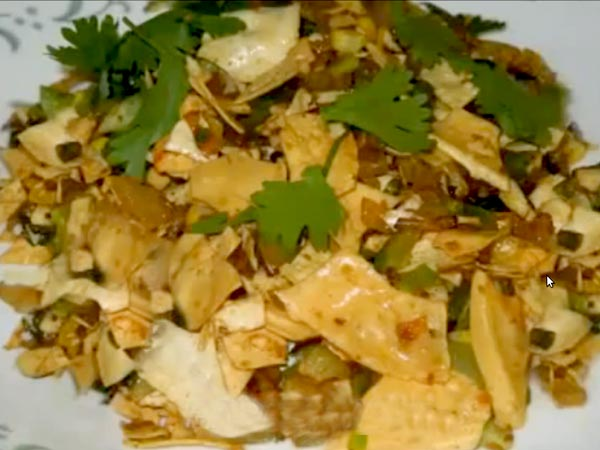 Quick & Easy Papad Ki Sabzi Recipe
