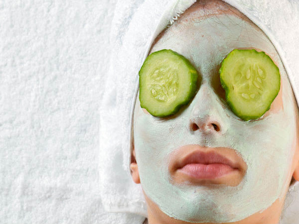 Best Ways To Apply A Cucumber Face Mask