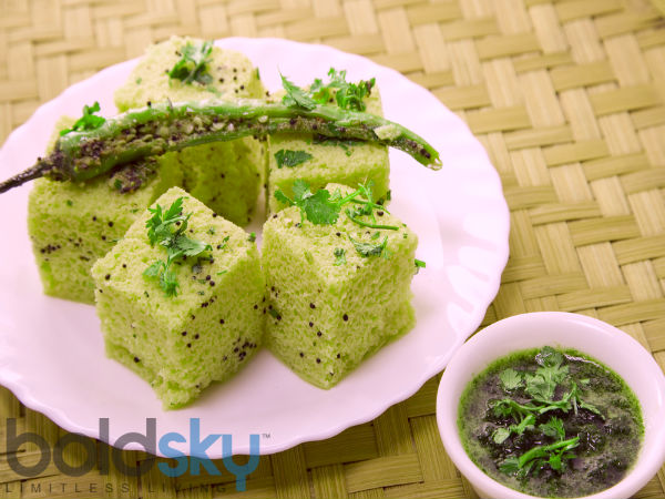 Palak Dhokla For A Healthy Breakfast