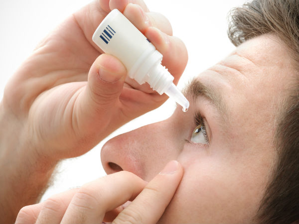 Recipe for herbal eye drops