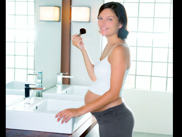 The pregnant woman's beauty tips