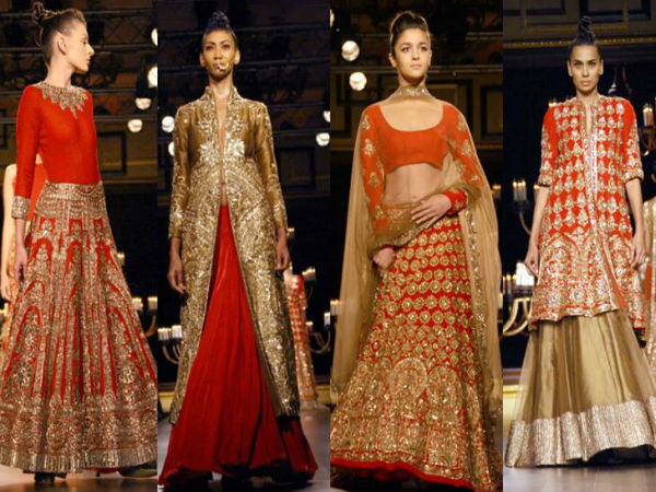 ICW 2014: Manish Malhotra Embeds Gold In Outfits