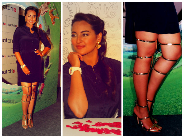 Sonakshi Sinha's Greek Goddess Look