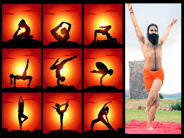 Image result for ramdev baba yoga
