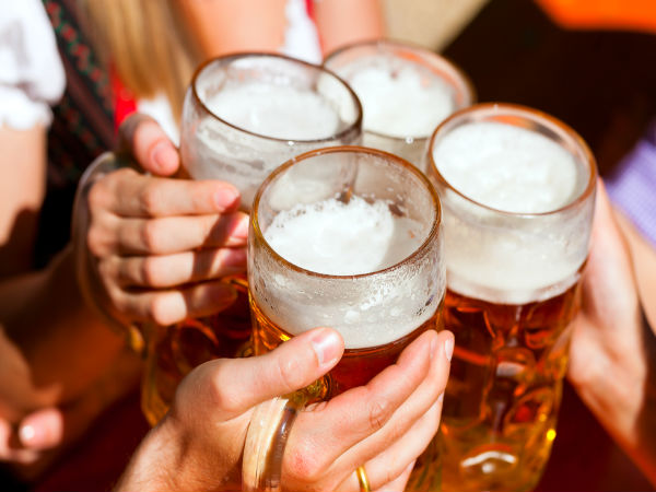 Beer sharpens the mind, research