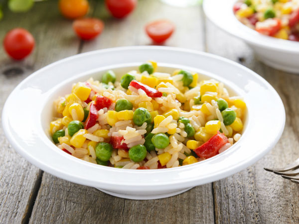 Easy to cook spicy corn pulao
