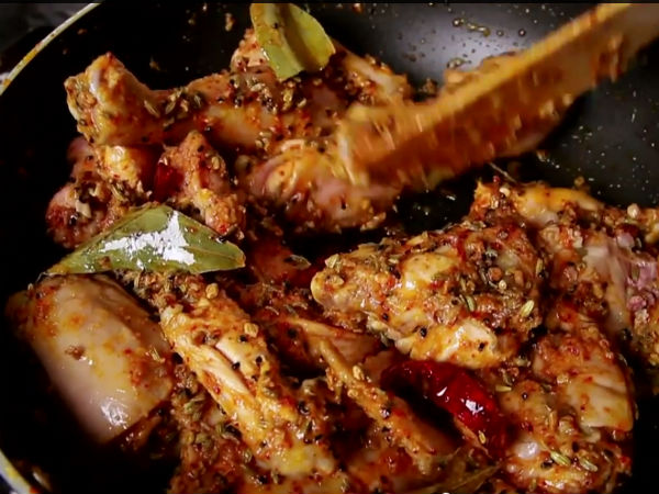 Hyderabadi Achari Murgh: Step-By-Step Recipe