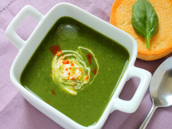 Spinach-Mung Detox Soup