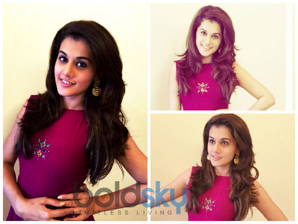 Taapsee Pannu's Royal Look In Mogra