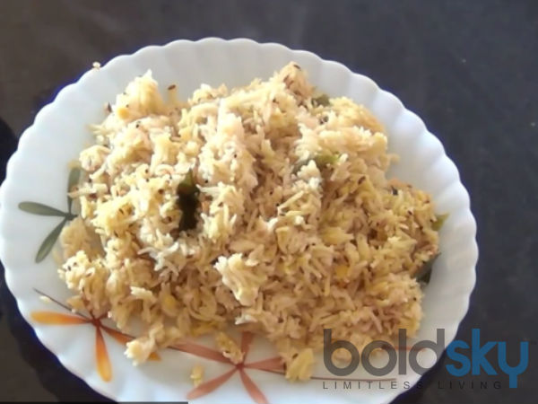 Protein Rich Toor Dal Rice Recip