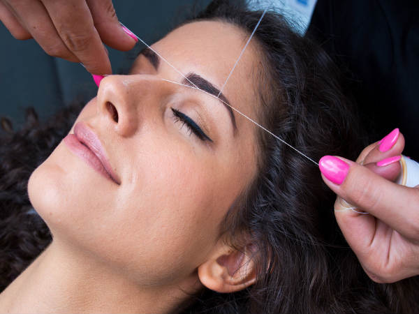 How to Reduce The Pain Caused Due to Eyebrow and Upper Lip Threading