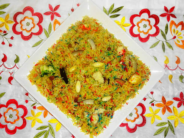 zarda rice recipe in hindi