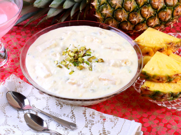 Pineapple Coconut Kheer – Pina Colada Pudding