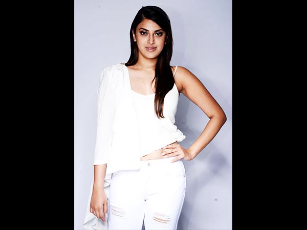 Anushka Ranjan In White For A Photoshoot1